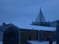 Campanile innevato chiesa del Rosario.  - Galati mamertino (5756 clic)