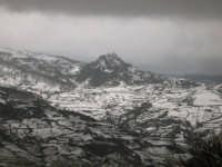 Veduta panoramica del pizzo del Muely ricoperto di neve.  - Galati mamertino (6525 clic)