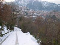 Neve a Galati Mamertino vista dalla contrada Trofillo  - Galati mamertino (6543 clic)