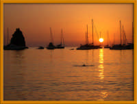 Tramonto a Vulcano (Spiaggia di sabbie nere)  - Vulcano (8933 clic)