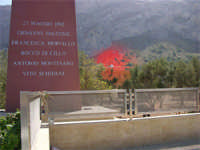 Capaci,per non dimenticare, monumento ai caduti Giovanni Falcone e la sua scorta 22/05/1992  - Capaci (13184 clic)