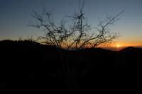 Monte Etna. Tramonto.  - Nicolosi (2578 clic)