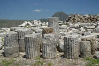 Parco archeologico di Monte Jato (resti del IV secolo a.C.)  - San giuseppe jato (4801 clic)