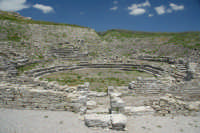 Parco archeologico di Monte Jato (resti del teatro del IV secolo a.C.)  - San giuseppe jato (10106 clic)