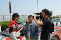 Targa Florio 2006. Una TV locale intervista Franco Cunico  - Termini imerese (2420 clic)