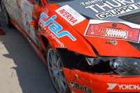 Targa Florio 2006. Il danno di Cunico  - Termini imerese (2318 clic)