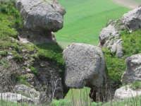 Serre di Ciminna - Particolare della cresta delle serre visto dall'alto  - Ciminna (5244 clic)