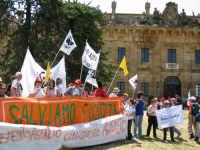 Marcia di Ficuzza del 29 maggio 2005. L'arrivo presso la Casina di caccia  - Ficuzza (3246 clic)