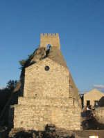 Castello, particolare della torre  - Sperlinga (4898 clic)