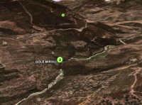 U MiriKu  Le Gole del Tiberio viste dal satellite  - San mauro castelverde (3520 clic)