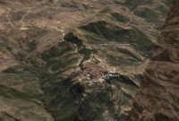 Il paese visto dal Satellite, Arruccatu Dò Pizzu da Muntagna.  - San mauro castelverde (4088 clic)