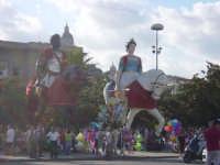 statue dei giganti Mata e Grifone, festa di Messina del 15 Agosto.  - Messina (10112 clic)