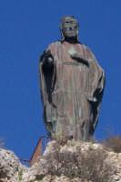 Costantina.Cristo benedicente la valle del Simeto.  - Paternò (2651 clic)