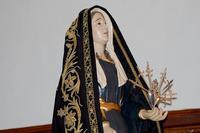 Madonna Addolorata Paterno'. Madonna Addolorata. Chiesa S. Margherita.  - Paternò (12548 clic)