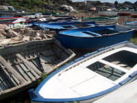 Barche in secca   - Capo mulini (3536 clic)