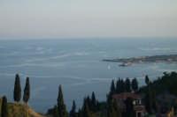 Veduta del porto turistico da Taormina  - Giardini naxos (8433 clic)