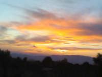 Tramonto a quota 1800m.  - Etna (2082 clic)