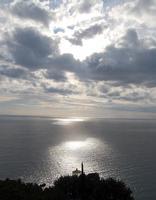 Alba  Alba vista dalla rupe di sant'Alessio Siculo. 1 Gennaio 2011  - Sant'alessio siculo (4803 clic)