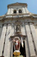 Pasqua, Cristo Risorto davanti la chiesa di S.Barbara.  - Paternò (3318 clic)