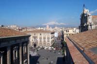 Porta Uzeda.Veduta di Via Etnea con il Vulcano Etna sullo sfondo.  - Catania (6109 clic)