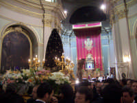 La Madonna Addolorata e il Cristo morto.Chiesa Ex Monastero.  - Paternò (3101 clic)