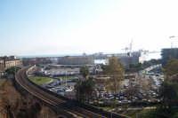 Particolare del Porto e ferrovia dello stato agli archi della marina.  - Catania (3048 clic)