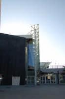 Scorcio della nuova aerostazione di fontanarossa-Vincenzo Bellini  - Catania (2009 clic)