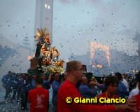 La festa di Maria S.S. del Rosario. sCUSATE PER LA FOTO CHE è VENUTA UNA MINGHIA!  - Pedalino (5235 clic)