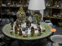 Natale 2005 Presepe di ceramica CALTAGIRONE Elisabetta Ciancio