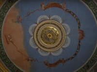 Il teatro Vittoria Colonna La volta con rosone dorato VITTORIA Elisabetta Ciancio