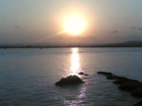 il tramonto  - Siracusa (1781 clic)