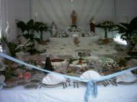 Festa di San Giuseppe a Niscemi. Altari ricchi di dolciumi e piatti tipici, una devozione che gli abitanti di Niscemi fanno a San Giuseppe   - Niscemi (28514 clic)