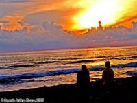 Anni Settanta (2o scatto)<font color=#ffffff>tramonto mare sole estate sud nuvole cielo</font>  - Isola delle correnti (1740 clic)
