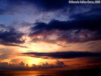 Satori!<font color=#ffffff>tramonto mare sole estate sud nuvole cielo</font>  - Isola delle correnti (2235 clic)