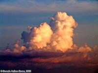 I bastioni del cielo.<font color=#ffffff>cielo sole tramonto nuvole</font>  - Isola delle correnti (2324 clic)