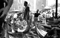 La Pescheria: venditore di pesce.  - Catania (4993 clic)
