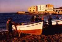 inverno 2005 pescatori 35mm  - Aspra (3763 clic)