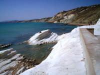 Punta bianca... costa immediatamente a sud di Agrigento  - Punta bianca (10772 clic)