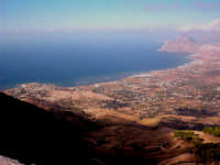 Vista dalle alture di Erice in direzione Palermo!  - Erice (4149 clic)