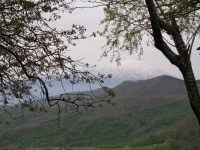 visione dell'etna ricoperta di neve  - Patti marina (3942 clic)