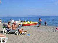 panorama delle eolie visibile dal Sunbeach  - Patti marina (4221 clic)