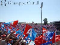Coreografia della curva sud dello stadio A.Massimino di Catania il 28 Maggio 2006 serie A  - Catania (6684 clic)