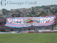 Coreografia della curva nord dello stadio A.Massimino di Catania il 28 Maggio 2006 serie A  - Catania (5794 clic)