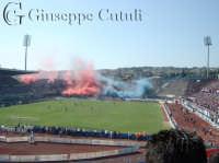 Fumogeni nella curva nord dello stadio A.Massimino di Catania il 28 Maggio 2006 serie A  - Catania (5018 clic)