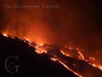 La colata lavica del 21/06/2008.  - Etna (1799 clic)