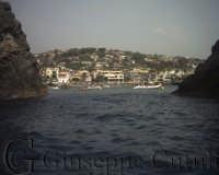 Foto del paese dal mare  - Aci trezza (6369 clic)