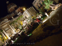 Piazza Duomo durante le festivitý Natalizie - Presepe  - Acireale (5567 clic)