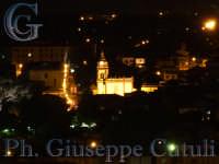 Chiesa Sant Antonio di Pedara vista da una collina di Trecastagni  - Trecastagni (3597 clic)
