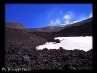 Sud-Est tra lava e neve  - Etna (3387 clic)