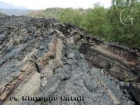 Le sfumature della lava solidificata.  - Etna (4547 clic)